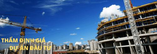 Thẩm định giá dự án đầu tư