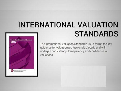 Tiêu chuẩn thẩm định giá quốc tế 2017